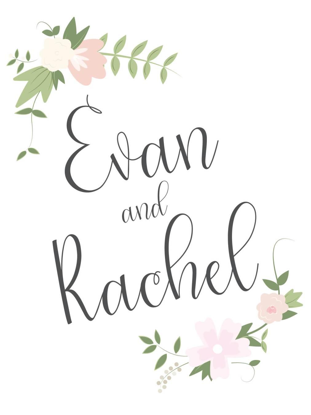 Reese and Thiemann WeddingProgram